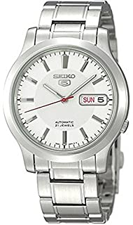 Seiko Reloj Análogo clásico para Hombre de Automático con Correa en Acero Inoxidable SNK789K1