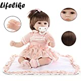 PSFS Realistic Reborn Baby Dolls 55CM,Reborn Baby Doll Life Like Soft Vinyl Silicone Doll (1, A)