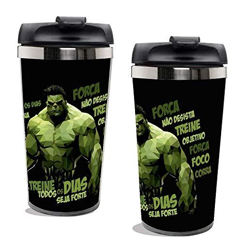 Copo Térmico Personalizado Hulk.