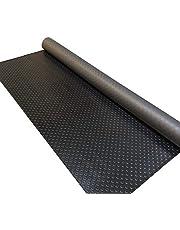 GorillaCOR™ Coin Garage Flooring Roll - 6.5' X 21.5' (Jet Black)