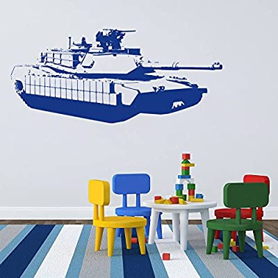 Ik711 Wall Decal Sticker Military Tank Us Army Special Weapons Squad Kids Room