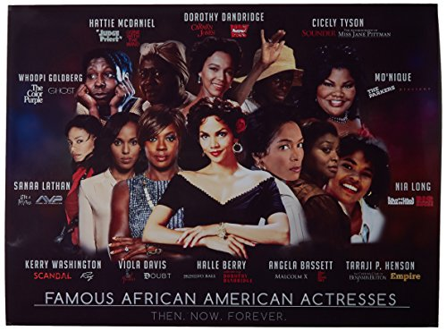 Tri-Seven Entertainment Famous African American Actresses Art Print Series 1 Poster, 18