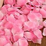 TT&HUNLI (10PCS) Wedding supplies / wedding room decoration / simulation fake petal / wedding decoration / hand cast simulation rose petal , 3