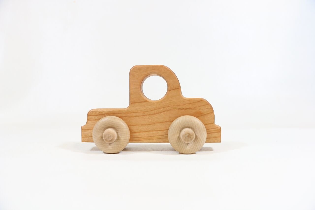 Truck Wooden Toy Car