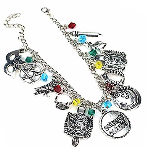 BlingSoul The Vampire Diaries Bracelet Damon Jewelry - The Vampire Diaries Merchandise Jewelry (Vampire Diaries Costumes For Halloween)