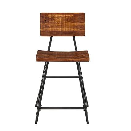 Strange Amazon Com Ink Ivy Ii101 0120 Trestle Counter Height Creativecarmelina Interior Chair Design Creativecarmelinacom