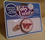 Gatton VIRGINIA TECH FAN PULL CEILING LIGHT NEW HOKIES BABY FANATIC VP1471 HAND PAINTD.