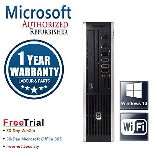HP Elite 8300 Ultra Small Business High Performance Desktop Computer PC (Intel Core I5-3470S 2.9G Quad Core,8G RAM DDR3,1TB HDD,DVD-ROM,Wi-Fi,Windows 10 Professional 64) (Certified Refurb)