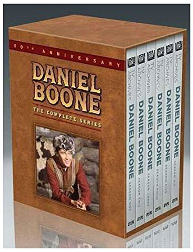 Daniel Boone The Complete Series DVDS Disc Box Set NEW & Sealed