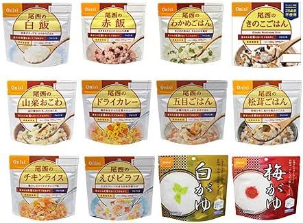 尾西食品 アルファ米(24食セット)
