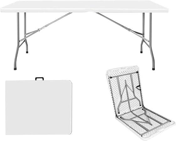 Amazon Com Qz Home Table Pliante Table Droite Table De