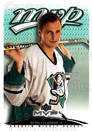 (CI) Sergei Fedorov Hockey Card 2003-04 Upper Deck MVP (base) 8 Sergei Fedorov