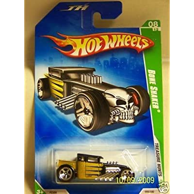 Hot Wheels Treasure Hunt Bone Shaker 8/12: Toys & Games
