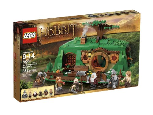 LEGO The Hobbit 79003 An Unexpected Gathering (The Lord Rings Legos Of)