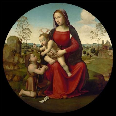 Saints Row 3 Costume Ideas (Oil Painting 'Giuliano Bugiardini,Madonna And Child With The Infant Saint John The Baptist,1510-1512' Printing On High Quality Polyster Canvas , 10x10 Inch / 25x25 Cm ,the Best Gift For Girl Friend And Boy Friend And Home Artwork And Gifts Is This Amazing Art Decorative Canvas Prints)