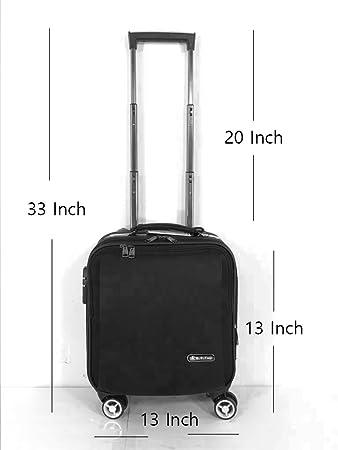 "a8388119463ec 4 Wheel drive 360 Trolley Bag Catalog Bag Laptop Notebook 12"" trolley  bag Business Attache"