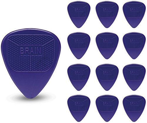 Snarling Dogs Brain Pick Pack .60 mm 13 (Purple Guitar Pick)