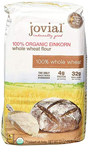 JOVIAL Whole Wheat Einkorn Flour, 32 OZ