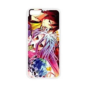 iPhone 6 Plus 5.5 Inch Cell Phone Case White No Game No Life tryr