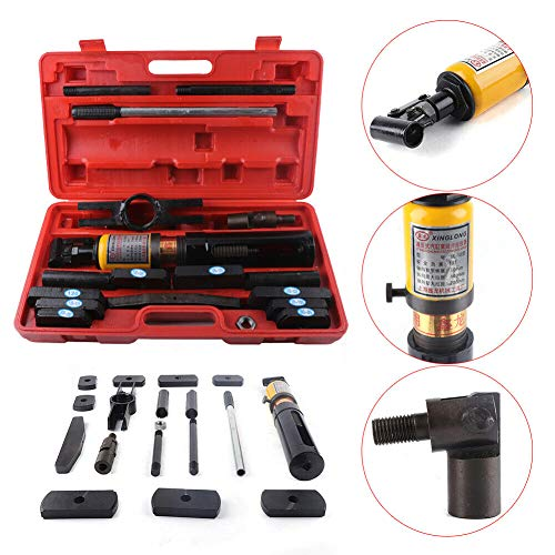 - Splitter, TBVECHI Puller, 10T Hydraulic Cylinder Sleeve Liner Puller Dry-Type Splitter 80-137mm with Box (USA STOCK)