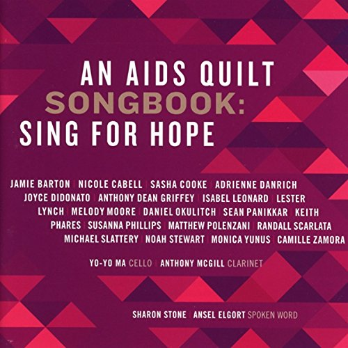 Aids Quilt Song Book-Sing for Hope