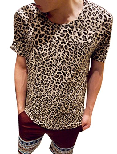 Allegra Short Sleeve Round Leopard product image