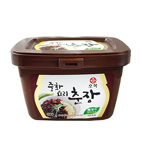 ([ 1.1 Pound ] Chinese Black Bean Paste Sauce, Jjajang [ Chunjang ] (500g) 중화요리 춘장)