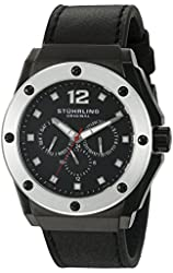 "Stuhrling Original Men's 469.33B51 ""Special Reserve Midnight Apocalypse"" Black Watch"