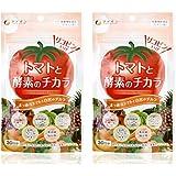 ファイン トマトと酵素のチカラ リコピン 植物酵素配合 30日分 (1日3粒/90粒入)×2個セット