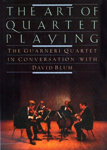 QUARTET PLAYING,ART OF (Ludwig Viola)