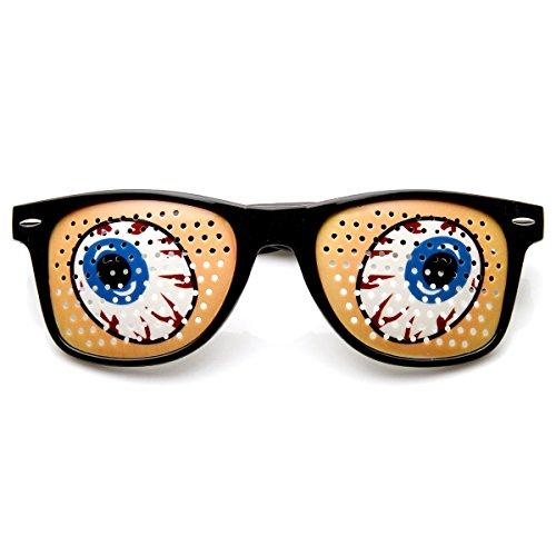 zeroUV - Poker Face Animal Goofy Eyes Costume Party Novelty Sunglasses - Face Costume Poker
