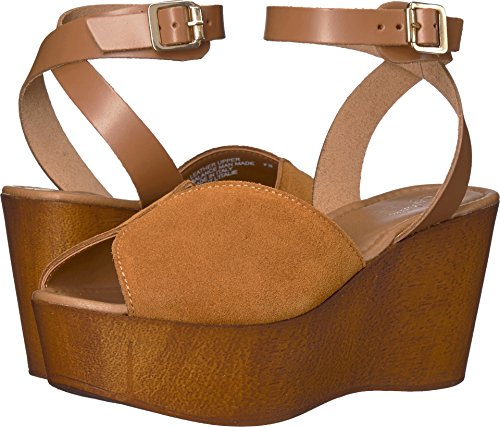 Seychelles Women's Laugh More Cognac Suede 8 M US (Womens Wedge Seychelles Shoes)