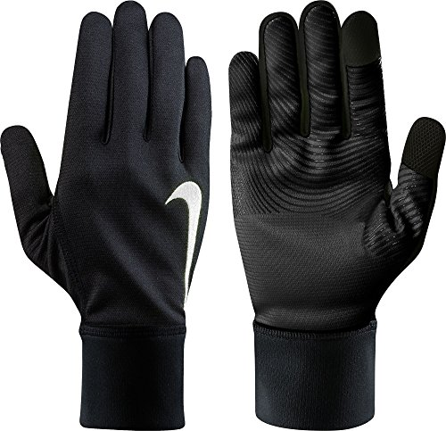 NIKE Men's Therma-FIT Gloves (Black/Black, Large) -