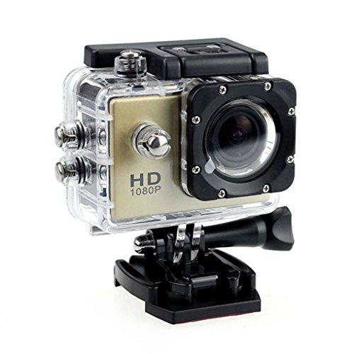 Providethebest K71 1080P Sport Caméra extérieure Caméra d'action 30M étanche Mini DV écran HD Camera