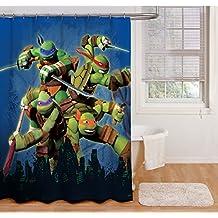 """Nickelodeon Teenage Mutant Ninja Turtles """"Heroes"""" Shower Curtain"""