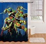 Nickelodeon Teenage Mutant Ninja Turtles 'Heroes' Shower Curtain
