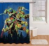 """Best Nickelodeon Blankets - Nickelodeon Teenage Mutant Ninja Turtles""""Heroes"""" Shower Curtain Review"""