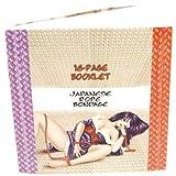 TLC Japanese Silk Love Rope Ankle Cuffs, Purple