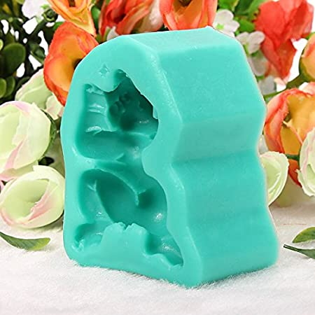 Amazon.com: Baby Lying On Front Cake Mold 3D Silicone Fondant Mould // Bebé acostado en molde de pastel frontal 3d de silicona molde fondant: Kitchen & ...