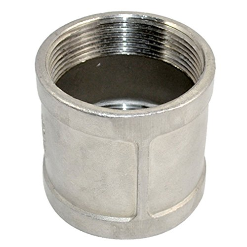 Stainless Steel SS SUS304 Threaded Cast Pipe Fitting, Coupling, 2