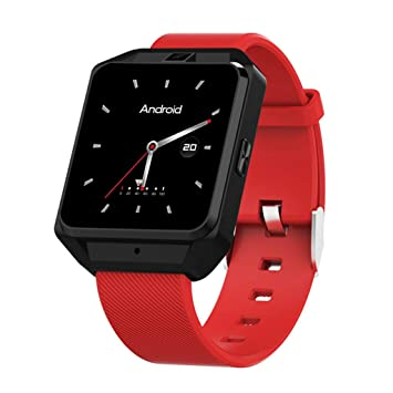 Y-Reloj inteligente Llamada por Internet 4G Posicionamiento GPS Pantalla táctil IP68 Resistente al Agua Compatible con Android/iOS 1.54 Pulgadas de ...