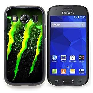 """Qstar Arte & diseño plástico duro Fundas Cover Cubre Hard Case Cover para Samsung Galaxy Ace Style LTE/ G357 (Monstruo"""")"""