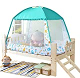 Baby Bed Mosquito net/Child Summer Insect Cover/Anti-Mosquito / / Indoor/Folding/Outdoor Portable/Free Installation/Park, Green, 80150125CM