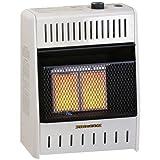 5 burner wall heater - Procom MG1TIR Ventless Dual Fuel Heater Thermostat Control Wall Heater -10,000 BTU