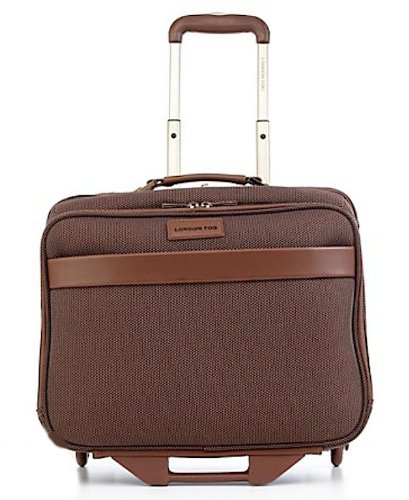 London Fog Oxfords - London Fog Oxford Classic Rolling Laptop Case