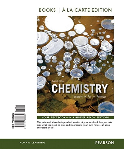 Chemistry, Books A La Carte Plus MasteringChemistry With EText -- Access Card Package (7th Edition)
