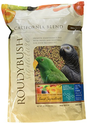 (RoudyBush California Blend Bird Food, Small, 10-Pound(Packaging May Vary))