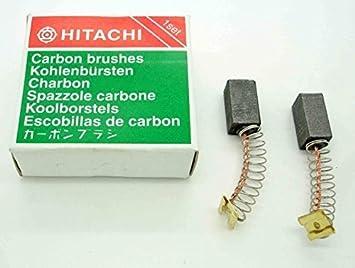 Escobillas de carb/ón Hitachi FM 8