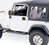 yj soft top - Rampage Products 68035 YJ Full Steel Door Top kit w/Hardware