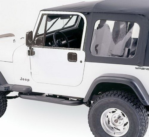 Rampage Jeep 68035 YJ Full Steel Door Top kit w/Hardware
